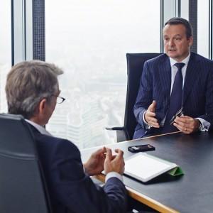Businessportrait Juergen Fenk Prof. Bussmann