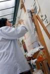 Malerin Nina Pops