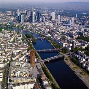 Luftbildauftrag Frankfurt