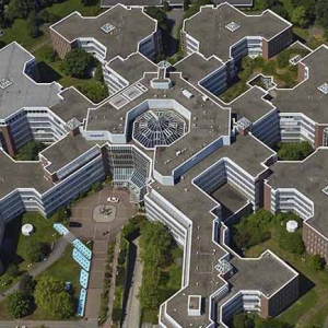 Luftbildauftrag Mertonhaus