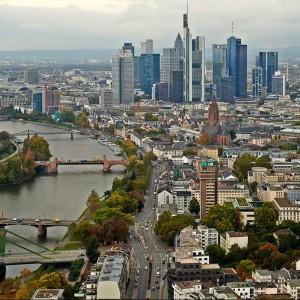 Ausblick vom EZB-Neubau