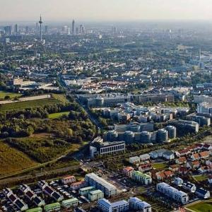 Luftbildauftrag Mertonviertel