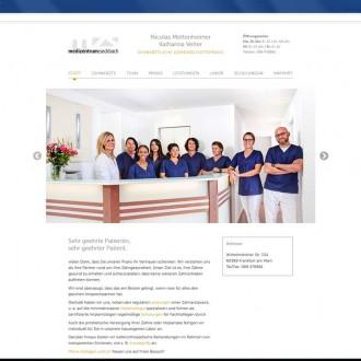Website Zahnärzte